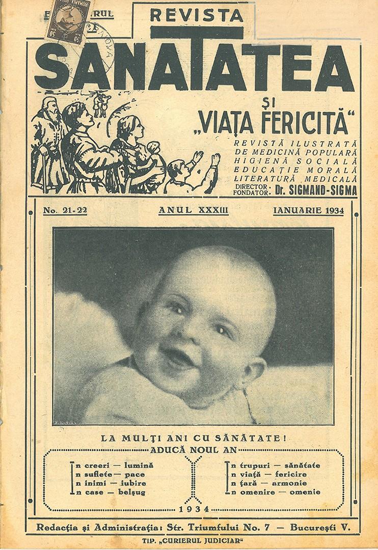 Coperta Revista Sanatatea